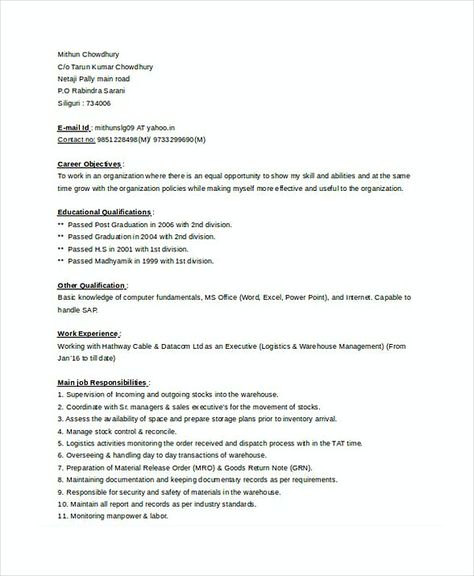 Store Manager Resume 1 , Assistant Store Manager Resume , Here is - assistant store manager resume