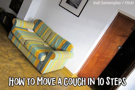 How To Move A Couch