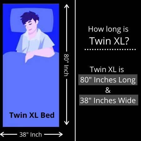 How Long Is Twin Xl In 2020 Twin Xl Twin Xl Bedding Twins