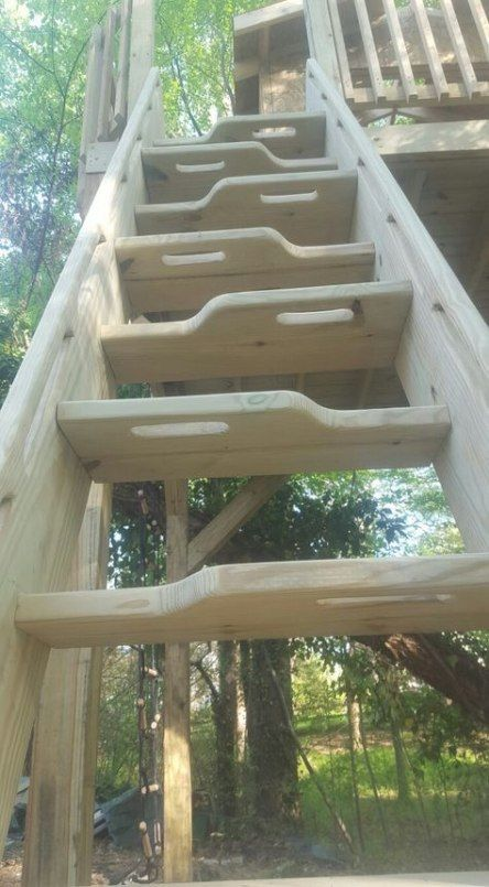 Tree House Fort Ladder 33 Ideas Tree House Diy Tree House