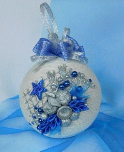 Piekna Bombka Sznurkowa Boze Narodzenie Rekodzielo 7594330796 Oficjalne Archiwum Allegro Christmas Decorations Christmas Ornaments Christmas Bulbs
