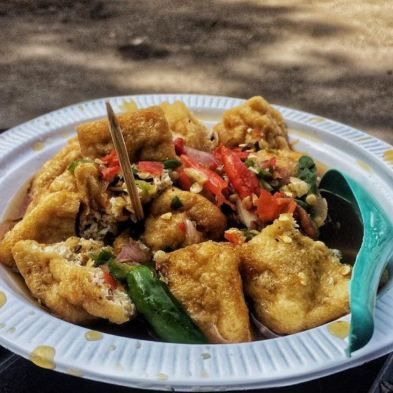 Resep Cara Membuat Tahu Gejrot Asli Cirebon Yang Enak Pedas Dan Mantap Iniresep Com Resep Resep Tahu Makanan Dan Minuman Resep Masakan