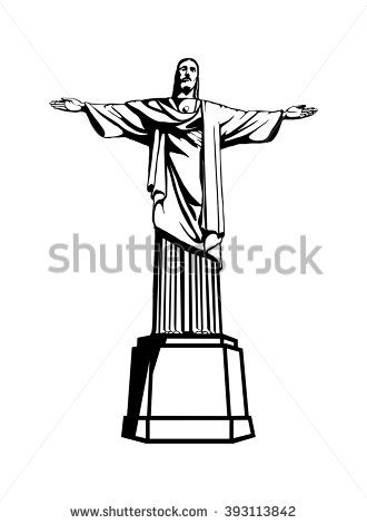 Cristo Redentor Illustration In Brazil Zamki