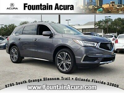 2020 Acura Mdx With Technology Package 2020 Acura Mdx With Technology Package 6 Miles Modern Steel Metallic Suv V 6 Cyl Acura Mdx Technology Package Acura