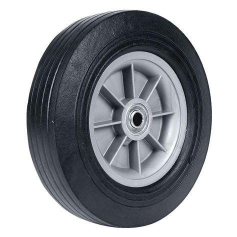 MAGLINE 111025 Hand Truck Wheel,10in dia.,Solid Rubber