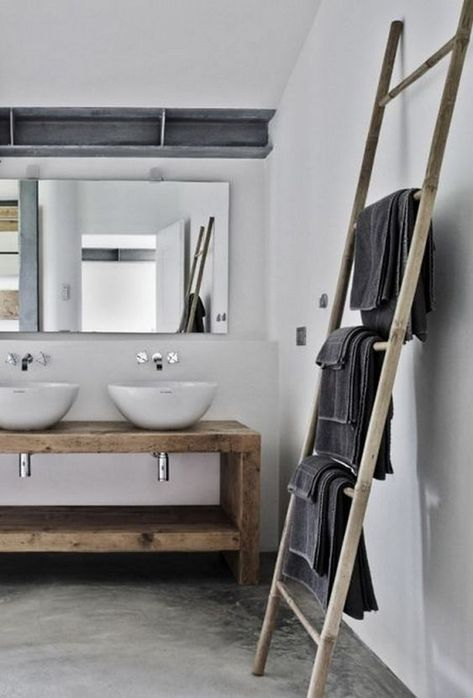 25+ towel rack ideas in your bathroom to make look organized