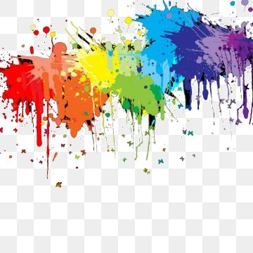 A Cor De Esmalte Paint Splash Background Watercolor Splash Png Color Splash