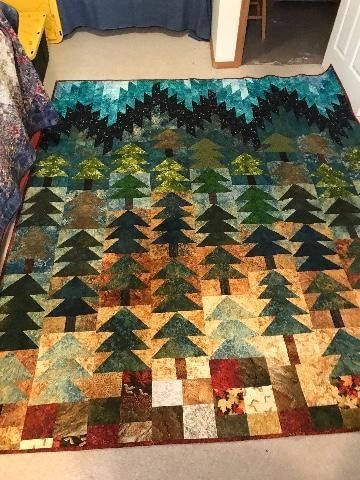 Tree Quilt Pattern, Bird Quilt, Amish Quilt Patterns, Applique Quilt Patterns, Man Quilt, Quilt Art, Colchas Quilting, Quilting Designs, Quilt Stitching