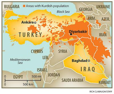 Map of turkey iraq and surrounding countries map also shows map of turkey iraq and surrounding countries map also shows capitals for both countries as well as areas with kurdish population in both turke sciox Image collections