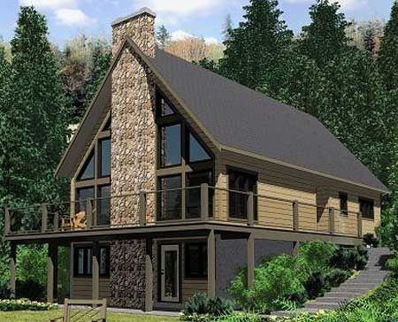 Lakefront Home Plans with Walkout Basement Luxury Eplans A Frame ...