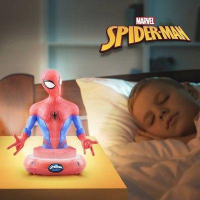 Cartoon Electric Spider-Man Scooter Figure Hasbro Xmas Toy Gift Light Tumbler