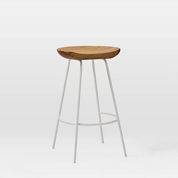 Surprising West Elm Alden Bar Counter Stools White Cloudland Alphanode Cool Chair Designs And Ideas Alphanodeonline