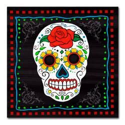 Dear God By Tonya Picture Frame Textual Art Print On Paper In 2020 Sugar Skull Painting Canvas Art Trademark Fine Art