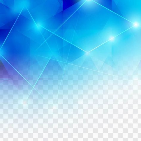Download Polygonal Blue Background With Lights For Free In 2020