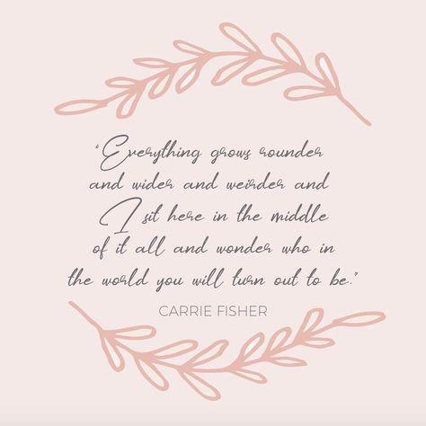 Pregnancy quote. Motherhood quote