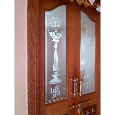 Image Result For Glass Door Designs For Pooja Room Room Door