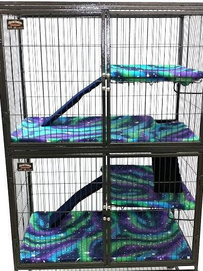 Ferret Nation Critter Nation Fitter Cage Liners Cage Not Included Here At Piggy Bedspreads Weve Been Making Fle Pet Ferret Ferrets Care Ferret Nation Cage