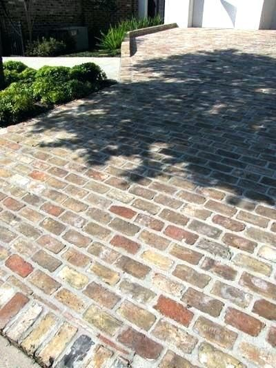 Patio Chicago Brick Pavers Antique