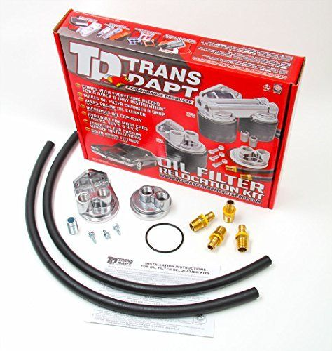 Trans Dapt 1127 Oil Filter Relocation Kit Oil Filter Filters Kit