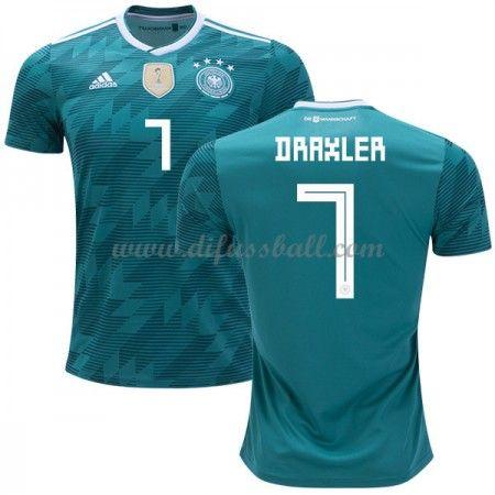 Gunstige Fussballtrikots Deutschland Trikot Nationalmannschaft Wm 2018 Julian Draxler 7 Auswartstrikot Kurz Deutschland Trikot Fussballtrikots Nationalmannschaft