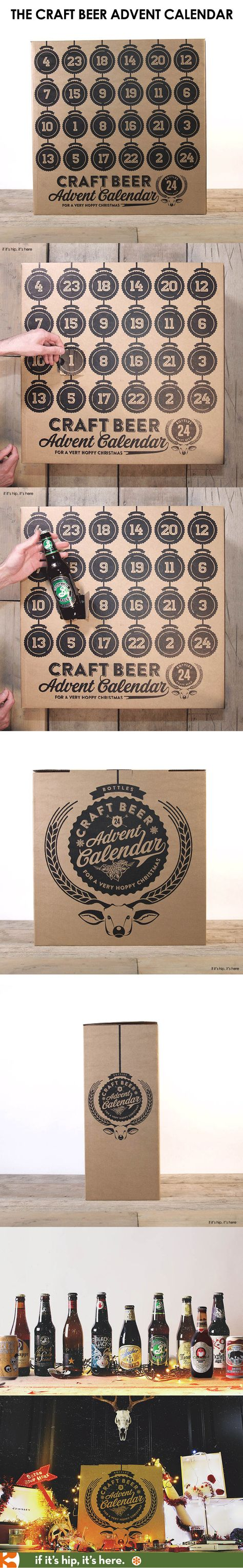The Christmas Craft Beer Advent Calendar is a festive way to countdown to the Holidays!