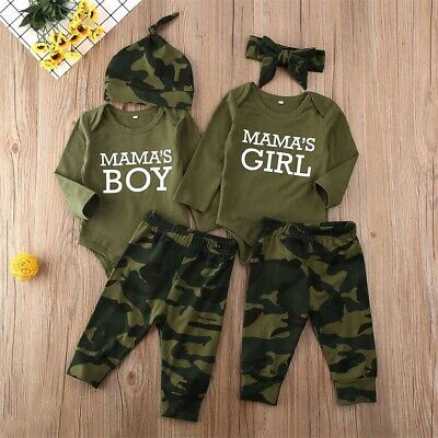 Carter/'s NWT 12M 18M 24M Camo Infant Boy 3pc Jacket Fleece Pant Bodysuit Set