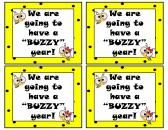 Teacher Notes Bee Theme product from Walkers-Creation on TeachersNotebook.com
