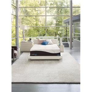 Simmons ComforPedic Restored Spirits Queen Luxury Plush Memory Foam  Mattress   Miller Brothers Furniture   Mattress