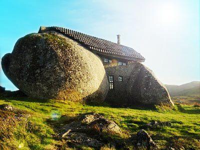 Verrücktestes haus der welt  Steinhaus in Portugal   crazy houses / verrückte Häuser ...