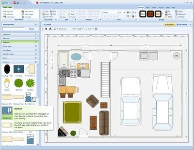 Smartdraw Floorplan Free Floor Plan Design