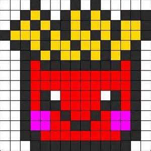 Telecharger Pixel Art De Frite Kawaii Résultats Yahoo