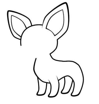 Aprende Como Dibujar Un Perro Chihuahua Paso A Paso 4 Como Dibujar Un Perro Dibujo De Perro Como Dibujar