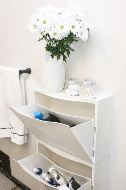 Diy Badezimmer Organisation Und Lagerung Ideen Badezimmer Dekor Ocean Theme Im Gegensatz Zu Ikea Trones Ikea Lagerung Aufbewahrung Fur Kleines Badezimmer