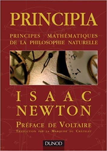 Telecharger Principia Principes Mathematiques De La Philosophie Naturelle Pdf Gratuitement Ebook G Isaac Newton Books Book Cover