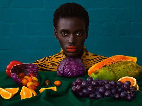 Elena Iv-skaya's dynamic fashion editorial for Africa is Now Magazine