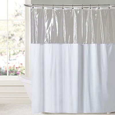 Advertisement Antimicrobial Treated Shower Curtain Water