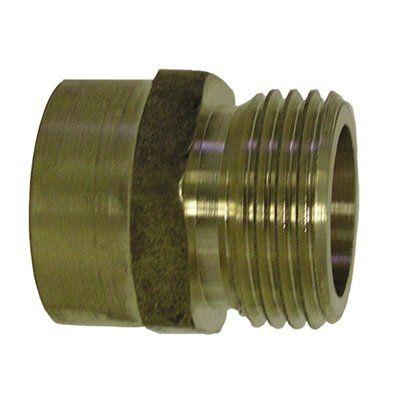 Sioux Chief 3 4 In X 1 2 In X Threaded Male Hose X Fip Adapter Fitting Brass Fittings