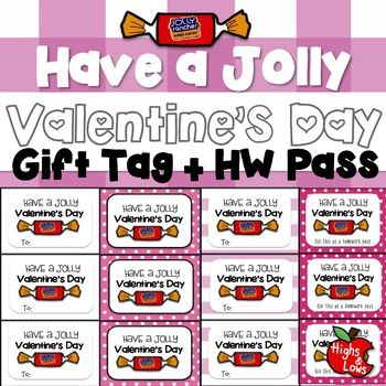 Have Treats To Give To Your Students For Valentine S Day Print This Cute Quot Have A Jolly Valentine Punny Valentine Cards Valentines School Punny Valentines