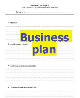 Exemples De Modeles De Business Plan En Doc Word Business Plan