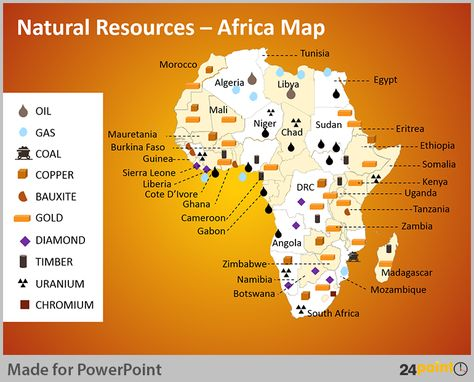 Resource Map Africa.African Resource Map Google Search Africa Map Map