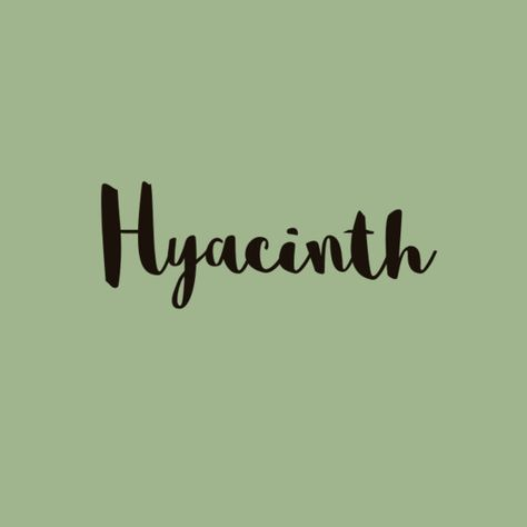 Hyacinth - Precious Baby Names Inspired By Jewels And Gemstones - Photos
