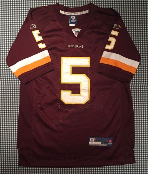 separation shoes fbaa9 f7090 Donovan McNabb Washington Redskins Adult Replica Jersey Size ...