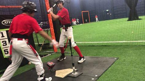 Seattle Washington Ncaa Velopro Baseball Barrel Speed Lesson With Images Speed Lesson Baseball Camp Baseball Training