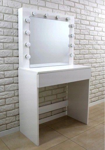 Toaletka Lustro Do Makijazu Wizazu Z Oswietleniem Meja Rias