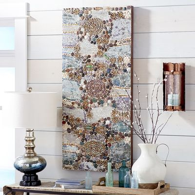 Stone Collage Wall Decor Our Artisans Have Done The Near