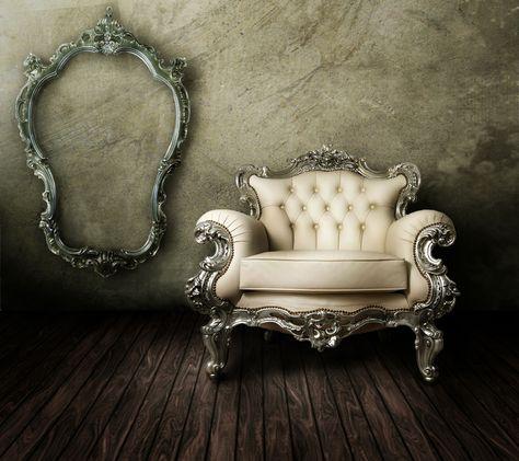 European gorgeous sofa with frame 27655 - Classic design material - Classic Design