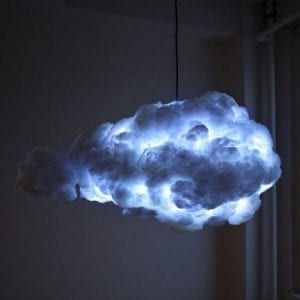How To Make A Cloud Lamp Diy Projects