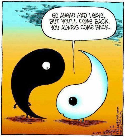 Come Back #yin-yang | Twin flame art, Twin flame, Twin