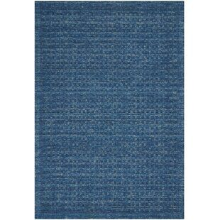Dakoda Solid Hand Hooked Wool Navy Blue Area Rug Navy Blue Area Rug Navy Blue Rug Blue Rug