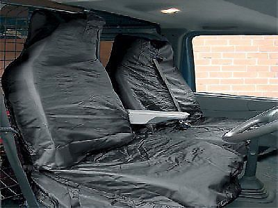 NEW VAN SEAT COVER SET WATER RESISTANT PROTECTIVE GREY